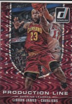 【GG】Lebron James 詹姆斯 2014-15 Panini Donruss 波纹折