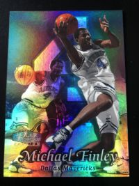 1998-99 fleer showcase 迈克尔芬利 小牛 base row2
