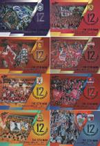 C1646 周天行 2019 中体卡业 中超联赛官方球星卡 系列 第十二人 大比例 闪亮特卡 8张一起出 如图 超级漂亮 超级经典
