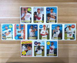 【23ING官方代卖】Topps 系列 三联大卡 棒球选手 eBay有价 凑套必备 KT12574(大卡卡品一般,介意勿拍)