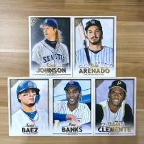 【23ING官方代卖】Topps GALLERY系列 棒球明星肖像大卡 打包 凑套必备 KT12579(大卡卡品一般,介意勿拍)