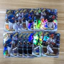 【23ING官方代卖】TOPPS BOWMAN CHROME系列 棒球明星 新秀 银折特卡 打包 凑套必备 KT12588