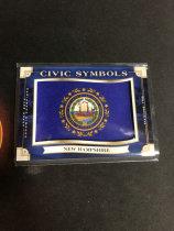 「老夫子」拍卖  000   GOODWIN  美国  州徽   新罕布什尔州(New Hampshire)