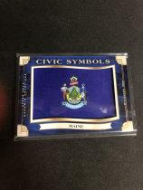 「老夫子」拍卖  000   GOODWIN  美国  州徽   缅因州(Maine)
