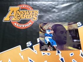 X007《答案卡世界》拍卖 0405 UD SPX 湖人传奇 科比 布莱恩特 base普卡!!!