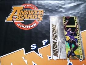 X007《答案卡世界》拍卖 2002 UD 湖人传奇 科比 布莱恩特 MP1 折射 特卡!!!