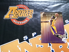 X007《答案卡世界》拍卖 2000 UD 湖人传奇 科比 布莱恩特 KB8 特卡!!!
