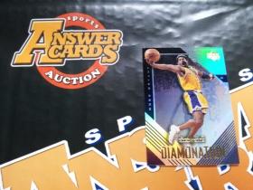 X007《答案卡世界》拍卖 2000 UD黑钻 湖人传奇 科比 布莱恩特 D3 折射 特卡!!!