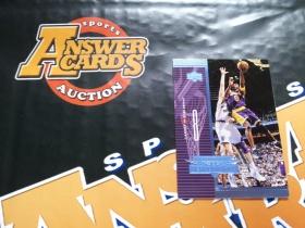 X007《答案卡世界》拍卖 1998 UD 湖人传奇 科比 布莱恩特 A14 特卡!!!