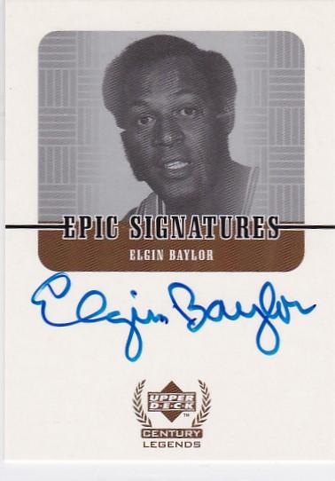 FA5 大赚哥专卖 1999年 UD系列  世纪传奇 贝勒 签字 卡签