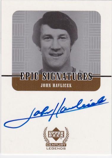 FA6 大赚哥专卖 1999年 UD系列  世纪传奇 哈弗里切克 签字 卡签
