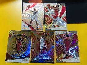 【Lucky球星卡店官方代拍-CON+0913】18-19 Panini Revolution 革命篮球 火箭球员打包!新秀爱德华兹、大胡子哈登、埃里克·戈登!可凑套!