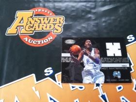 X007《答案卡世界》拍卖 0304 hoops顶级 魔术队 麦迪 限量500编 球衣卡!!!
