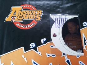 X007《答案卡世界》拍卖 9798 UD系列 猛龙队 麦迪 新秀 切割 特卡!!!