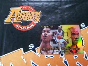 X007《答案卡世界》拍卖 9899 flair showcase 篮网队 斯蒂芬 马布里 经典ROW1 折射 限量 特卡 /1500!!!