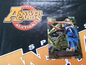 X007《答案卡世界》拍卖 9697 fleer金属 森林狼 斯蒂芬 马布里 新秀 特卡!!!