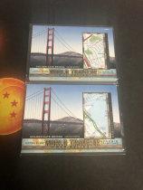 「老夫子」拍卖  999  GOODWIN 地图  切割    WT-16  金门大桥  打包