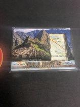 「老夫子」拍卖  999  GOODWIN 地图  切割    WT-25  马丘比丘(Machu Picchu )