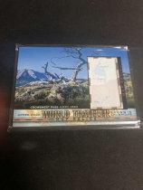 「老夫子」拍卖  999  GOODWIN 地图  切割    WT-75  克罗斯内斯特山口 Crowsnest Pass