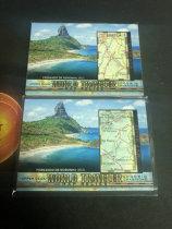 「老夫子」拍卖  999  GOODWIN 地图  切割    WT-80   费尔南多—迪诺罗尼亚( Fernando de Noronha) 打包
