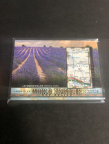 「老夫子」拍卖  999  GOODWIN 地图  切割    WT-93  薰衣草田 lavender fields