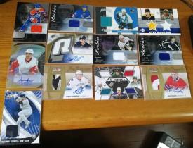 15526 Panini Upper Deck 各系列冰球+棒球 实物签字卡 12张一起 有很多好的版本 RPA等 懂得入 eBay搏奇迹