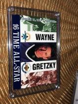 NHL 冰球皇帝 WAYNE GRETZKY  韋恩·格雷茨基 16次 ALL STAR 紀念 限量5000張,大尺寸紀念卡