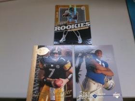 NFL 美国职业橄榄球 UD PANINI 199编 三张打包 (下面2张是老卡 介意勿拍)