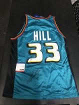 「老夫子」拍卖  999   DA 签名球衣盒出品  无盒  希尔  hill  签名球衣 有证书 champion 的球衣 少见!不要错过了!此标不累计只发顺丰到付