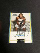 「老夫子」拍卖  009    玛利亚·莎拉波娃(Maria Sharapova) 网球  签字  面签  墨迹如图~