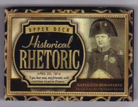拿破仑 波拿巴 2015 UD 历史人物有声卡 超厚 法兰西皇帝