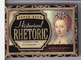 伊丽莎白一世 2015 UD 历史人物有声卡 超厚 英国女王