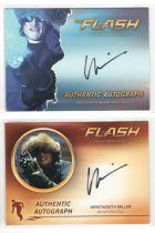 美剧 DC Flash 闪电侠 冰冻队长 温特沃斯 米勒 签字 签名 越狱
