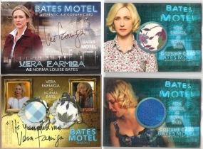 美剧 贝茨旅馆 Bates Vera Farmiga 维拉 法米加 法梅加 实物卡 戏服 签字