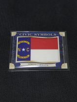 【御坂wind拍卖】2019 UD古德温/Goodwin Civic Symbols 州旗特卡 North Carolina 美国北卡罗来纳州 1:76 大比例