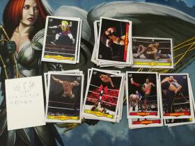【1118】<<苏州卡通>> 残套 2012 WWE格斗 复古 特卡 42张不同一起 各种传奇 好人 (品如图)(套卡不累计)
