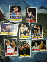 【1118】<<苏州卡通>> 残套 2012 WWE格斗 复古 特卡 8张不同一起,缺2张成套 各种传奇 好人 (品如图)