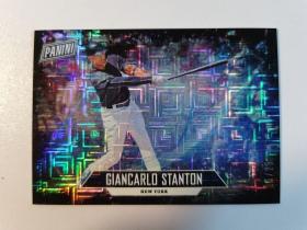 C52 2018 父亲节Father's Day 棒球纽约洋基队外野手 詹卡洛史丹顿 Giancarlo Stanton 25/25mojo折射 闪爆实卡很美