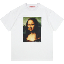 RAVENOUS(RVNS)基督下葬油画短袖男女潮牌宽松情侣T恤