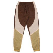 RAVENOUS(RVNS)拼接长裤宽松嘻哈男女运动休闲束脚裤子