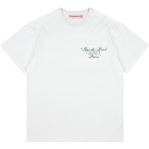 RAVENOUS(RVNS)油画印花蝴蝶短袖 潮牌休闲宽松情侣T恤