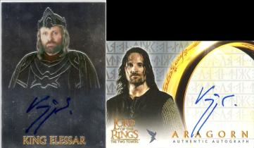 电影 指环王 魔戒 Aragorn 阿拉贡 雨果 莫藤森 签字 签名