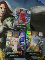 【1118】<<苏州卡通>> 足球 TOPPS CHROME FUTURE STARS 特卡银折3张一起 罗德里格斯+哈里·凯恩+德布劳内(品见大图)