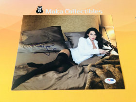 【MOKA魔卡球星卡】#201438 2017 Leaf 照片福盒 Megan Fox 美国著名演员、模特 美女性感照片 亲笔签名 带PSA证书 品如图 不累计