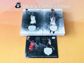 【MOKA魔卡球星卡】#201439 UD Michael Jordan 乔丹 遗产 套卡共50张齐 乔丹生涯从大学到退役 选图超美 收藏佳品 卡品不保 不累计
