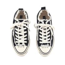 吴建豪xVESSEL 儿童手工硫化帆布鞋低帮童鞋潮鞋