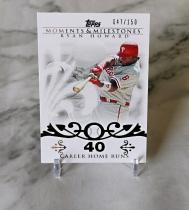 【栗子拍卖】2008 TOPPS系列 棒球 限量 150编 时刻 里程碑 特卡 霍华德 经典系列 收藏必备