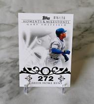 【栗子拍卖】2008 TOPPS系列 棒球 限量 150编 时刻 里程碑 特卡 谢菲尔德 经典系列 收藏必备