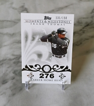 【栗子拍卖】2008 TOPPS系列 棒球 限量 150编 时刻 里程碑 特卡 托马斯 经典系列 收藏必备