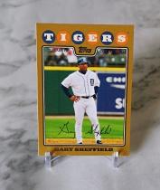 【栗子拍卖】TOPPS系列 棒球 限量 2008编 印签 谢菲尔德 经典系列 收藏必备